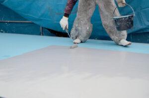 塗膜防水工法