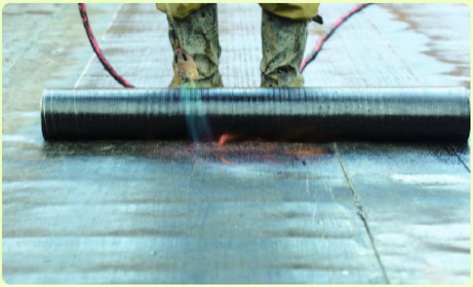アスファルト防水工法