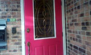 ドア塗装施工完了