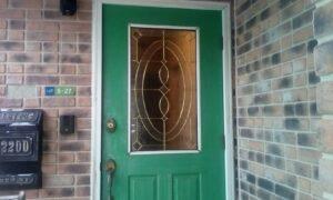 ドア塗装施工前